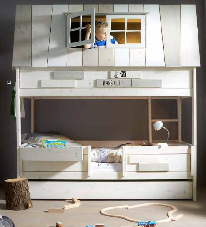 Abenteuerbett  Lifetime Abenteuerbett Hang out - lelefant Kinderwelt