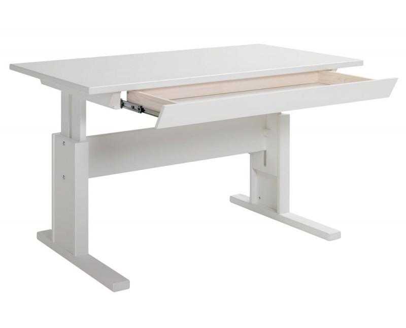 Lifetime Schreibtisch Höhenverstellbar 120cm Breit Mit Schublade