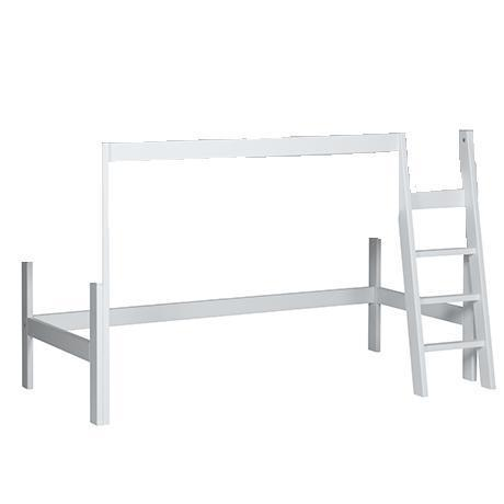 bett zum hochbett umbauen sanders bett hochbe sanders bett hochbett mit gerader leiter fanny x. Black Bedroom Furniture Sets. Home Design Ideas