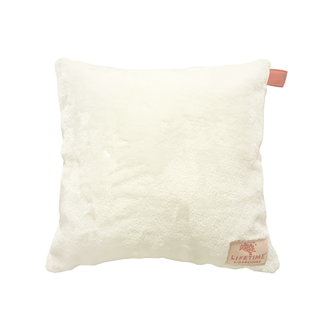 LifeTime Sugar Pie: Quadratisches Kissen Off white 45x45cm
