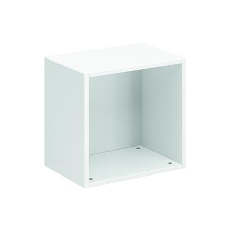 LifeTime Kiste für Wand und Boden weiß lackiert